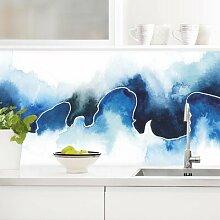 Küchenrückwand - Gletscherbruch