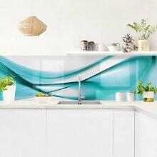 Küchenrückwand - Turquoise Design