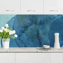 Küchenrückwand - Urknall - Blau