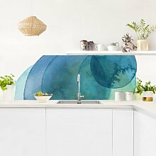 Küchenrückwand - Urknall - Grün
