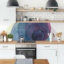 Küchenrückwand - Urknall - Lila