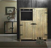 Küchenschrank für Haushaltsgeräte cm 138x64x168