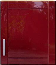 Küchenschrank in Rot Buche Dekor