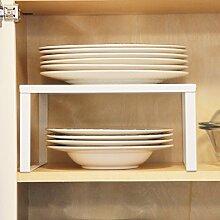 Küchenschrank mit Ablagefläche aus Metall, 33 x