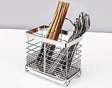 Küchenschrank-Organizer aus Edelstahl