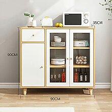 Küchenschrank, Vorratsschrank aus Holz,