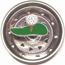 Küchensieb aus Emaille, Golfball