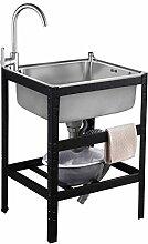 Küchenspüle Edelstahl Einbauspüle Waschbecken