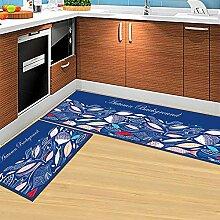 Küchenteppich Mit PVC rutschfeste Boden 3-4mm