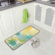 Küchenteppich mit Weihnachtskarte und