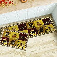 Küchenteppich, rutschfest, Nylon, 6,