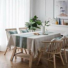 Küchentischabdeckung für Tischdecke Wasserdichte