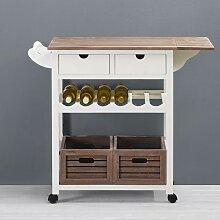 Küchenwagen mit Schubladen günstig online kaufen | LIONSHOME