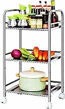 Küchenwagen HWF 3 Tier Küche Einheit Lagerung