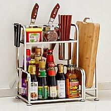 Küchenwagen HWF Küchenregale Edelstahl Spice