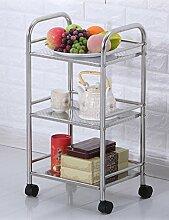 Küchenwagen HWF Regal Edelstahl Küche Bewegen