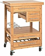 Küchenwagen mit Schubladen günstig online kaufen   LIONSHOME