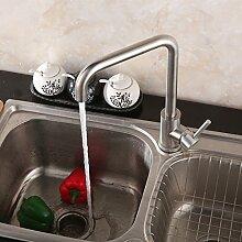 Küchenwaschbecken für heiße und kalte Küche,