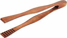 Küchenzange, handgefertigt, Bambus-Holz,