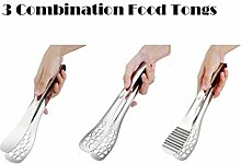 Küchenzangen 304 Edelstahl Lebensmittel Clip