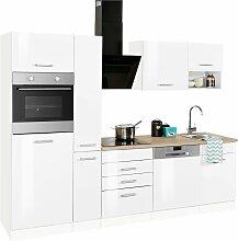 Küchenzeile Haiti, mit E-Geräten, Breite 260 cm