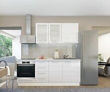 Küchenzeile / Küchenblock Fagali 01, 6-teilig,