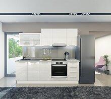 Küchenzeile / Küchenblock Fagali 07, 8-teilig,