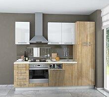 Küchenzeile / Küchenblock Fagali 11, 7-teilig,