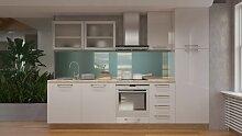 Küchenzeile / Küchenblock Fagali 21, 8-teilig,