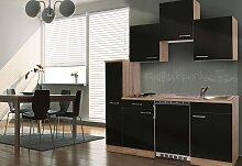 Küchenzeile, mit E-Geräten, Breite 180 cm EEK A+