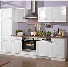 Küchenzeile Whites in Weiß (9-teilig) Pharao24