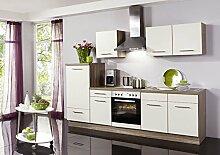 Küchenzeile Wiebke inkl. Elektrogeräte und Ceranfeld, 270 cm