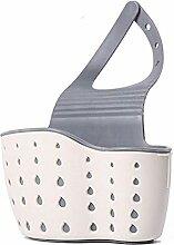Küchenzubehör Doppeltaschen Saugnapf Waschbecken