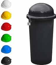 KUEFA Mülleimer / Gelber Sack Ständer - abschließbar (Grau)