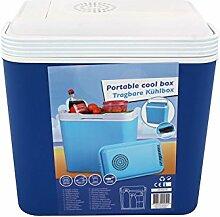 Kühlbox 12 Volt 22 Liter blau Kunststoff Kühltasche Kühlung