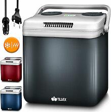 Kühlbox elektrisch 32L Rot   Mini-Kühlschrank