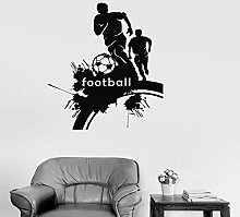Kühle Fußball Fußball Spieler Wandaufkleber