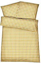 Kühle Mako Perkal Sommerbettwäsche 135 x 200 cm