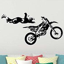 Kühle Sport Motorrad Wandkunst Aufkleber