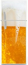 Kühlschrank Aufkleber Bier 115 x 52 cm