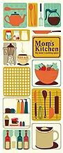 Kühlschrank-Aufkleber Einfach Küche