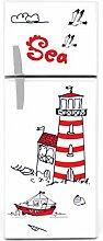 Kühlschrank Aufkleber Leuchtturm ro