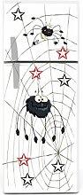 Kühlschrank Aufkleber Spinnen