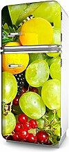 Kühlschrank-Aufkleber Tür-Folie Deko Möbel