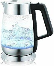 Kühlschrank Edelstahl-G21 Glasur, Glas, Espresso,