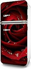 Kühlschrank-Folie Rose selbstklebend mehrere