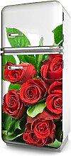 Kühlschrank-Folie Rosen selbstklebend mehrere