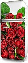 Kühlschrank-Folie Rosenstrauß selbstklebend