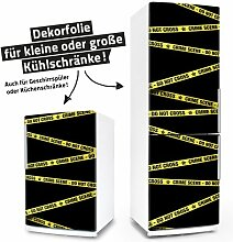 Kühlschrank- & Geschirrspüler-Folie --- Crime