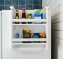 Kühlschrank Hängen Gewürz Lagerung Rack Küche Regal Kreativ Kühlschrank Seite Paletten Kühlschrank Pylon Seitenwand ( größe : 57*17*10cm )